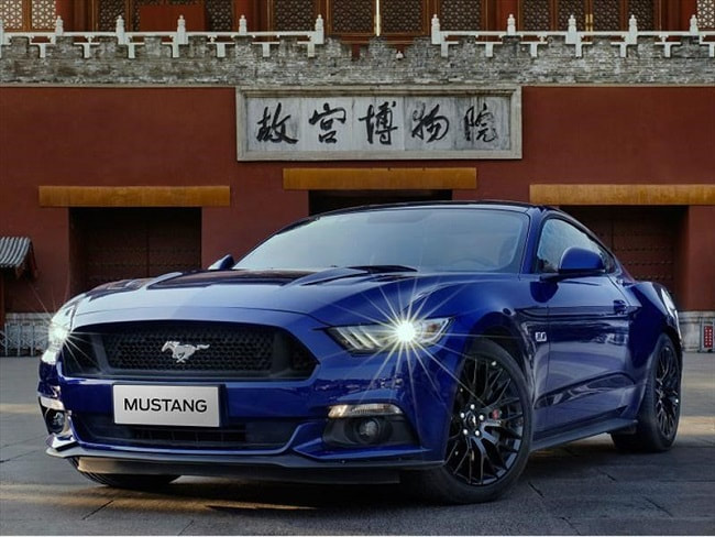 Ford Mustang sports car UAE